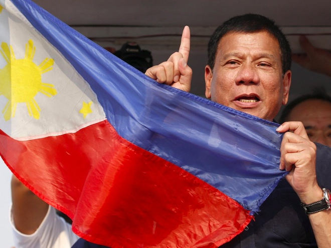 'Donald Trump cua Philippines' thang cu tong thong hinh anh