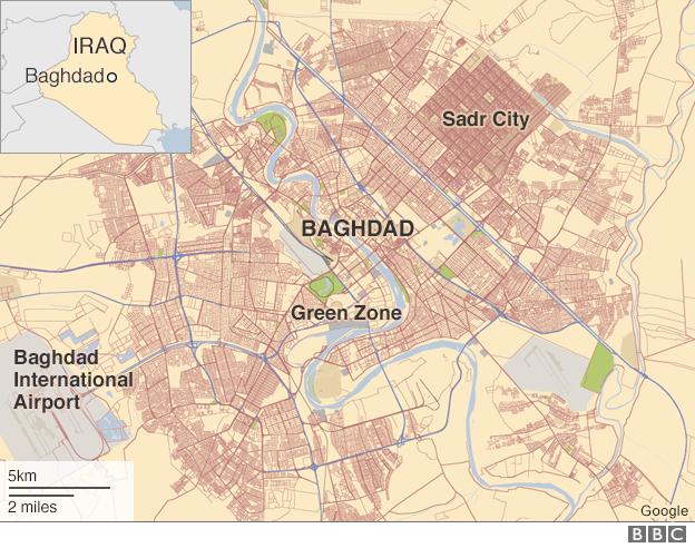IS danh bom xe giua cho o Iraq, 64 nguoi chet hinh anh 2