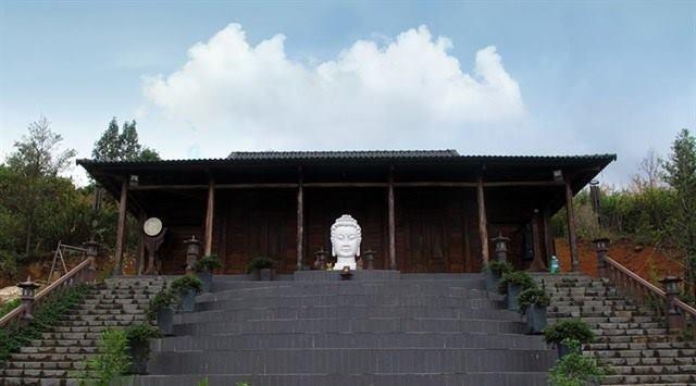 Chua Linh Quy Phap An - diem den moi cua gioi tre o Lam Dong hinh anh 1