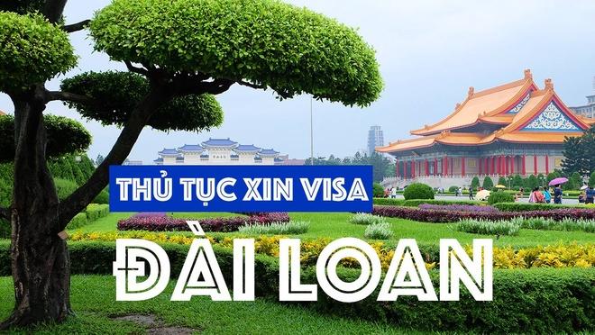 Kinh nghiem xin visa Dai Loan trong 2 phut hinh anh