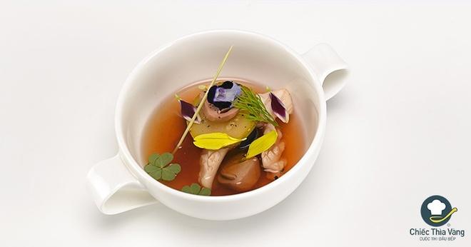 Chiec thia vang: Huong dan lam sup muc tuoi hinh anh