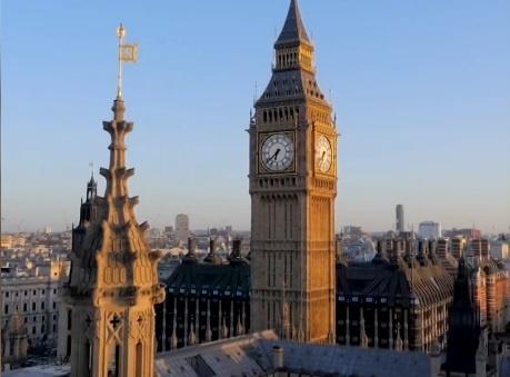 Thap dong ho Big Ben o London sap 'bien mat' hinh anh
