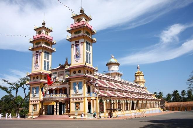 Tu TPHCM di Tay Ninh anh 1