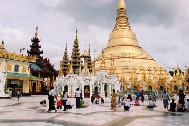 Hay mot lan den xu so co tich Bagan hinh anh