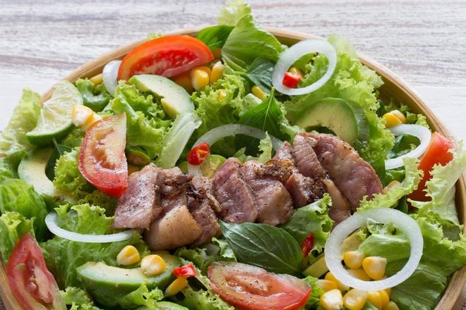 Salad bo - bua an lanh manh cho suc khoe hinh anh