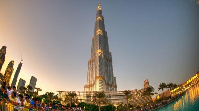 Burj Khalifa - toa thap cao nhat tren the gioi hinh anh