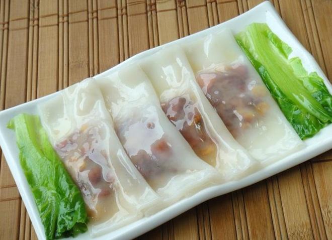 Đặc sản bánh cuốn nổi tiếng của Quảng Châu