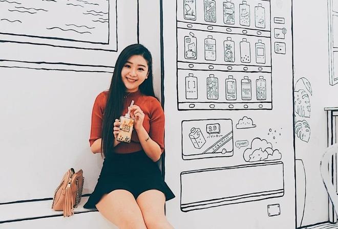 Check-in quan Cafe Tra Sua 2D dep nhu tranh ve hinh anh