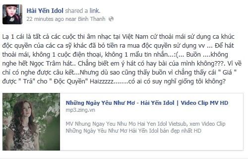 My Linh 'dan mat' Hoang Ton ngay tren song truyen hinh hinh anh 30