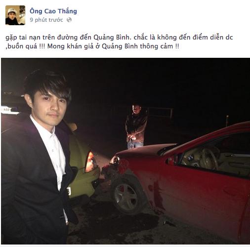 Ong Cao Thang - Hoang Ton gap tai nan tren duong luu dien hinh anh 1