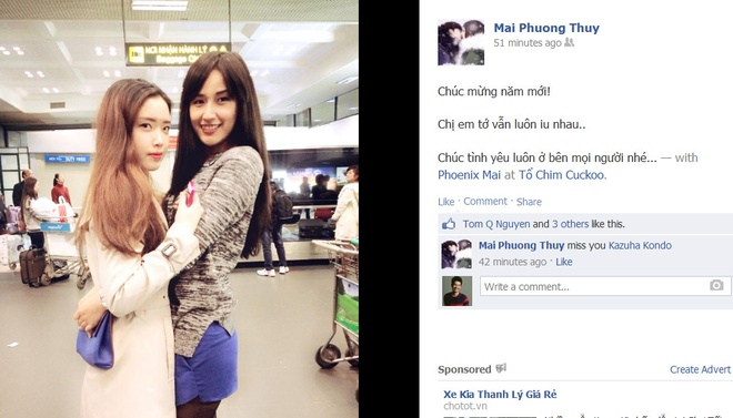 Khoanh khac Tet hanh phuc cua sao Viet hinh anh 11