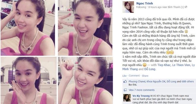 Khoanh khac Tet hanh phuc cua sao Viet hinh anh 13