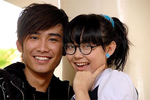 Chí Thiện và Minh Hằng trong phim Giải cứu thần chết.