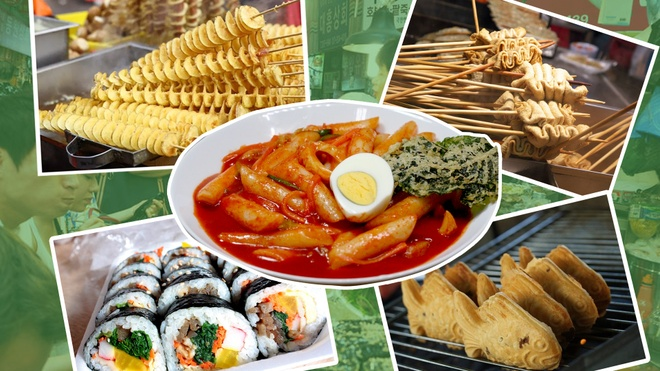 #Zreview: 5 mon an duong pho Han duoc gioi tre Viet yeu thich hinh anh