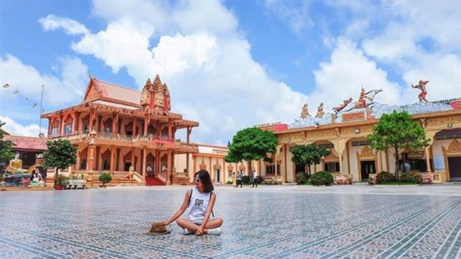 #Justgo: Kham pha ngoi chua Khmer dep nhat Tay Nam Bo hinh anh