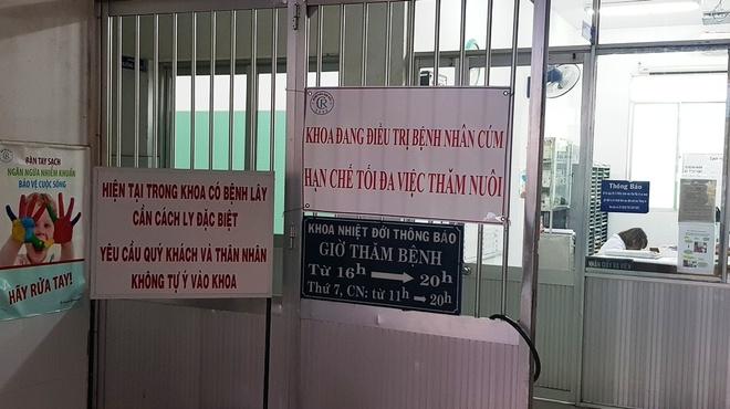 O dich cum A/H1N1 o Benh vien Cho Ray duoc khong che hinh anh