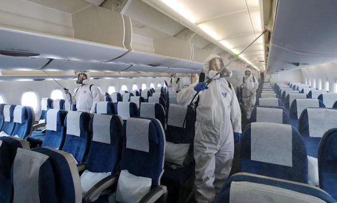 Them mot tiep vien hang khong Korean Air nhiem virus corona