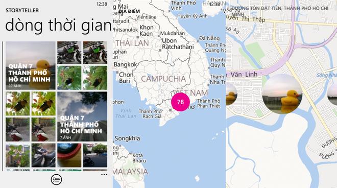 Nhung trao luu hanh phuc hut hon gioi tre Viet hinh anh 5 Ứng dụng Storyteller tự động sắp xếp các hình ảnh theo dòng thời gian, tổng hợp theo ngày và chia sẻ dễ dàng trên mạng xã hội.