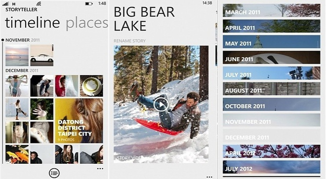Meo chup anh dep voi Lumia 630 hinh anh 6    Ứng dụng Story Teller cho phép xắp xếp các bức ảnh theo chủ đề.