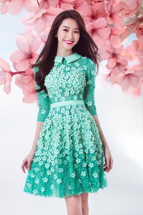 Nhung my nhan Viet co lan da trang khong ti vet hinh anh 5 Cô cũng được nhận xét là hoa hậu có vẻ đẹp tự nhiên nhất.