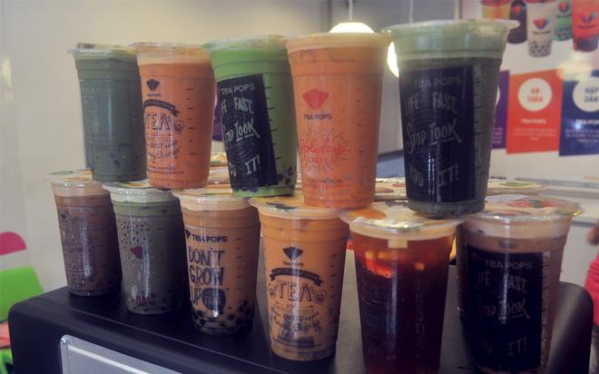 Thuong thuc do uong va trang mieng matcha ngon tai Ha Noi hinh anh 6       Ngoài các sản phẩm từ matcha, ở đây còn có nhiều loại trà sữa Thái Lan tuyệt hảo.