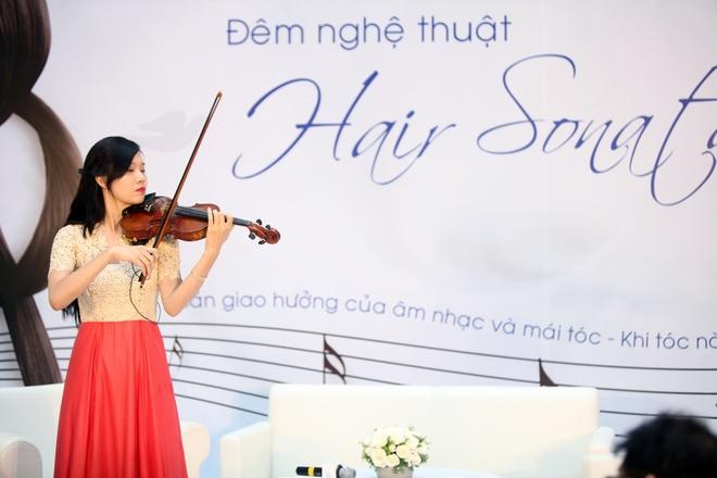 Nhung nhac cu doc dao lam tu chat lieu dac biet hinh anh 5 Cây đàn violin có dây vĩ làm từ tóc xuất hiện trong đêm nghệ thuật Hair Sonata – Khi tóc nàng hát.