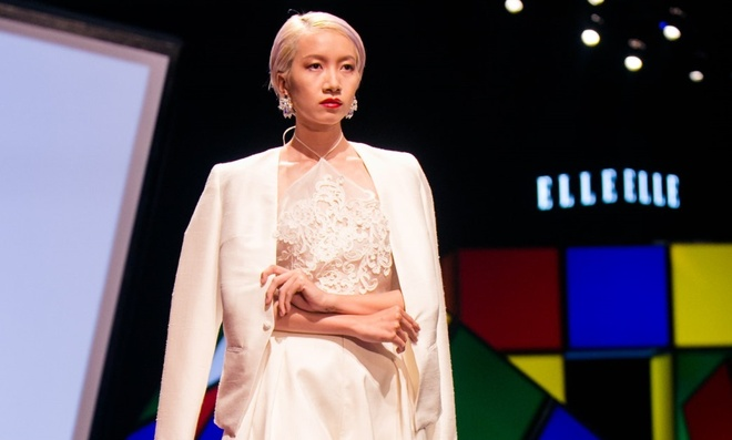 Xu huong toc 2015 do bo san dien Elle Fashion Show hinh anh