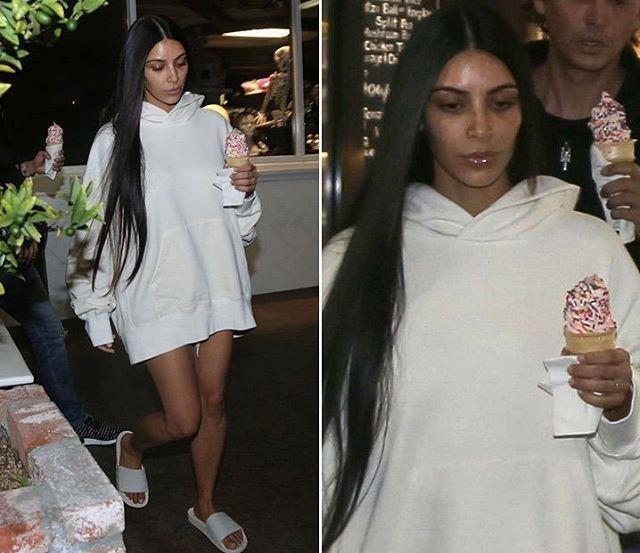Kim Kardashian va nhung lan mat moc xuong pho 'xau khong nhan ra' hinh anh 6