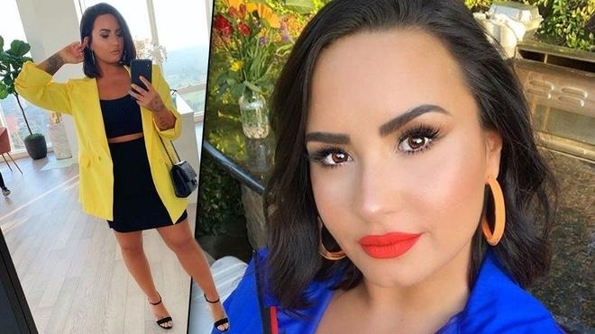 Demi Lovato make up 'cuc dam' ben Ariana Grande vao sinh nhat hinh anh 6