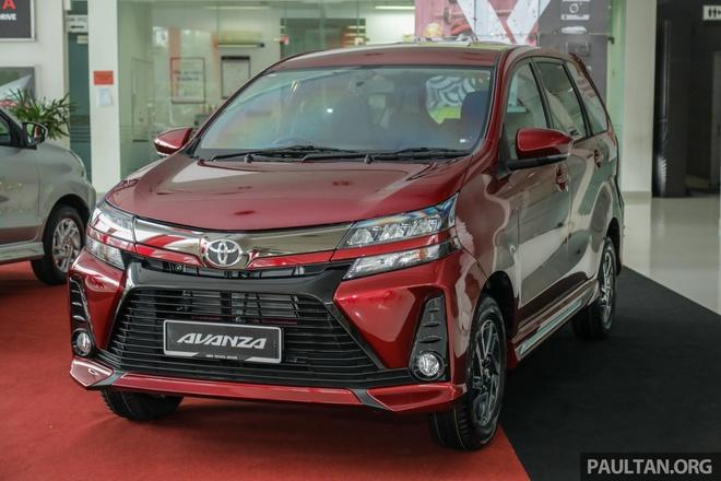 'Xe co' Toyota Avanza 2019 thay doi thiet ke, co them canh bao diem mu hinh anh 2