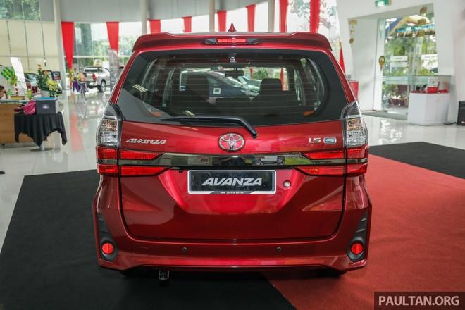 'Xe co' Toyota Avanza 2019 thay doi thiet ke, co them canh bao diem mu hinh anh 4