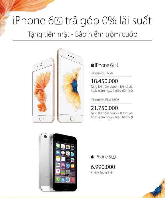Ly do mua dien thoai tra gop 0% lai suat hut nguoi dung hinh anh 1