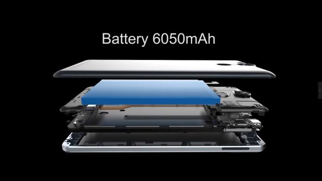 Ule Power: Smartphone cau hinh lon, pin dung luong 6.050 mAh hinh anh 4