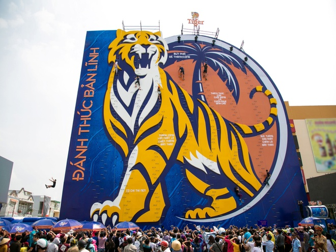 chinh phuc Buc tuong Tiger tai TP HCM anh 1