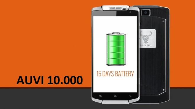 OUVI - smartphone pin dung luong 10.000 mAh hinh anh 1
