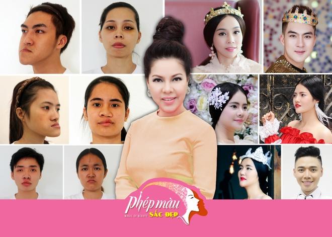 Ly Nha Ky, Viet Anh hoi ngo tai dem gala 'Phep mau sac dep' hinh anh 5