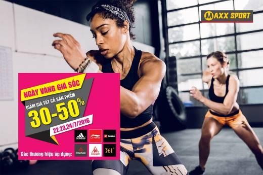 adidas giam 30% toan bo san pham tai MaxxSport hinh anh 1