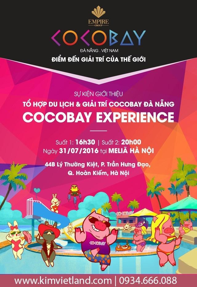 Chuong trinh giai tri Cocobay Experience den Ha Noi hinh anh 2