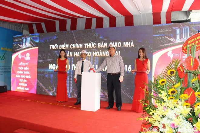 Hateco Hoang Mai chinh thuc ban giao nha vao thang 11 hinh anh 1