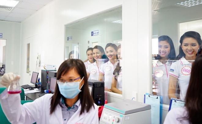 Thi sinh HHVN 2016 tham quan nha may Hoa Thien Phu hinh anh 5