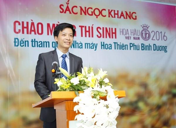 Thi sinh HHVN 2016 tham quan nha may Hoa Thien Phu hinh anh 8