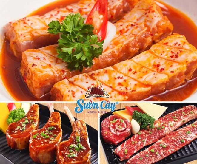 Thuong thuc Suon Cay nuong cung bia tuoi mien phi hinh anh 4