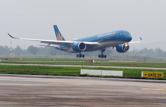 Vietnam Airlines don nhan may bay Airbus A350 thu 5 hinh anh 2