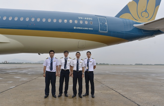 Vietnam Airlines don nhan may bay Airbus A350 thu 5 hinh anh 3