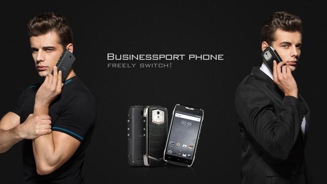 Smartphone DCO T5 Nhat chong nuoc, man hinh dong dinh duoc hinh anh 2