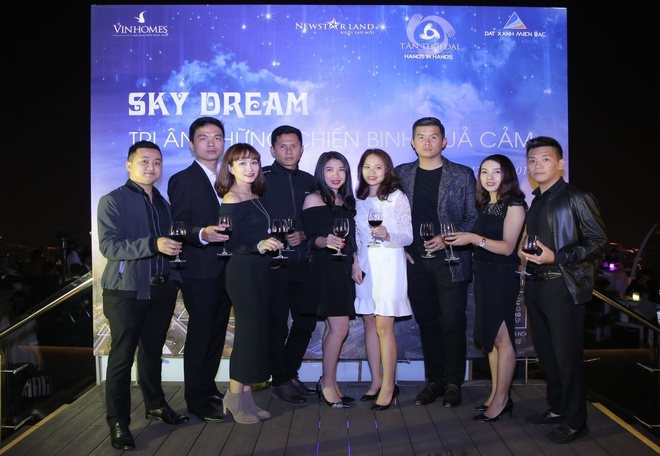 Sky Dream Gala tri an cac nha moi gioi Vinhomes Metropolis hinh anh 1