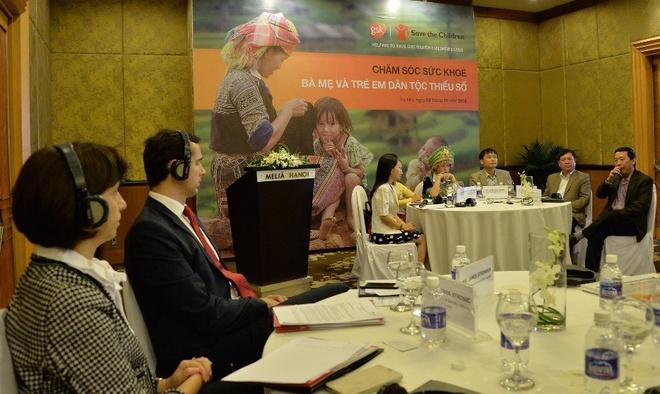 GSK va Save the Children trien khai du an y te tai Yen Bai hinh anh 1