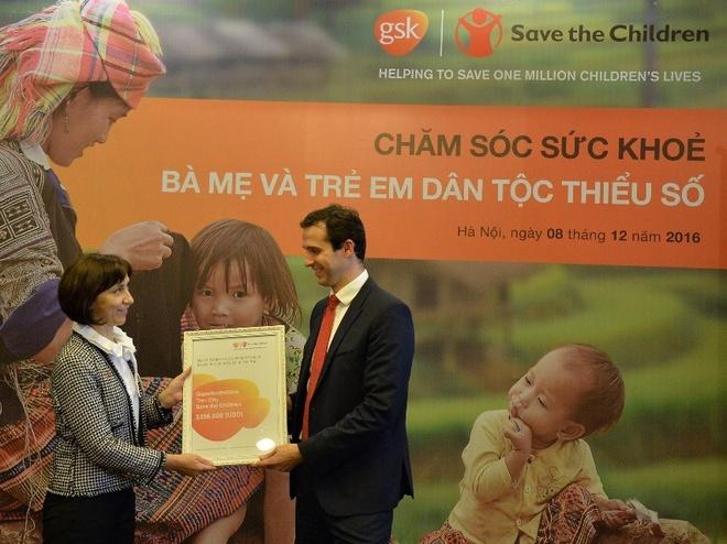 GSK va Save the Children trien khai du an y te tai Yen Bai hinh anh 2