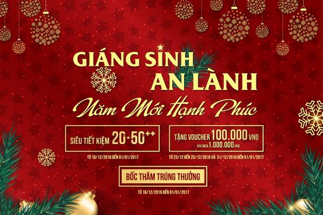 Trang Tien Plaza mung Giang sinh an lanh, nam moi hanh phuc hinh anh 1