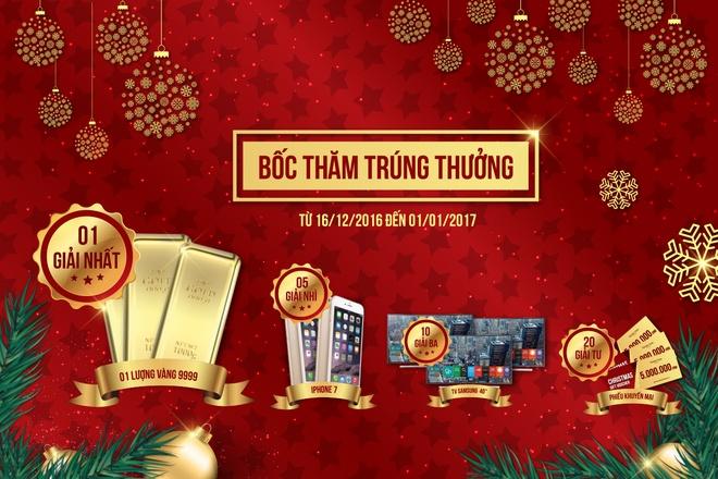 Trang Tien Plaza mung Giang sinh an lanh, nam moi hanh phuc hinh anh 2